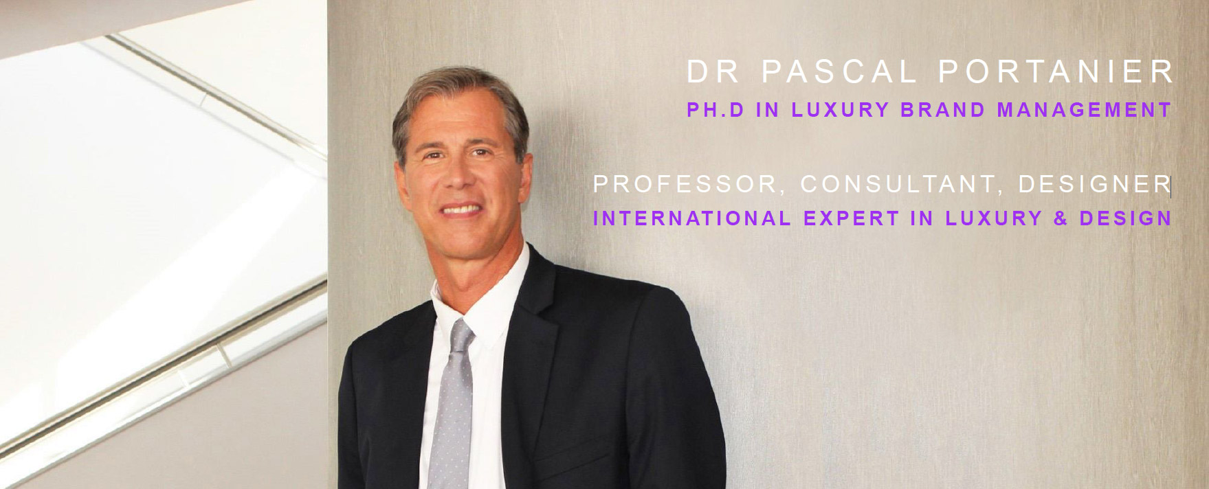 Dr Pascal Portanier Luxury Consulting